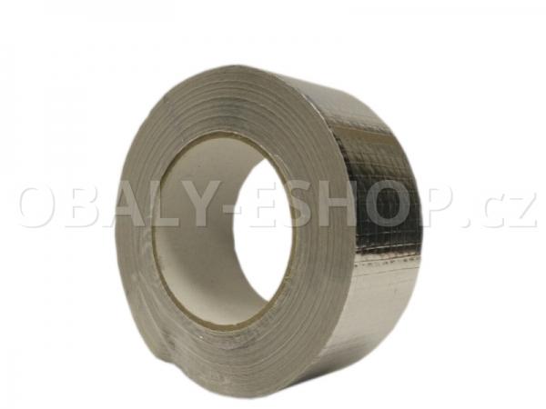 Hliníková lepicí páska 50mmx50m ALU 060 zesílená vlákny