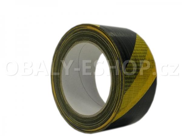 Výstražná lepicí páska ARGO 50mmx33m Pruhy Žluto-černé