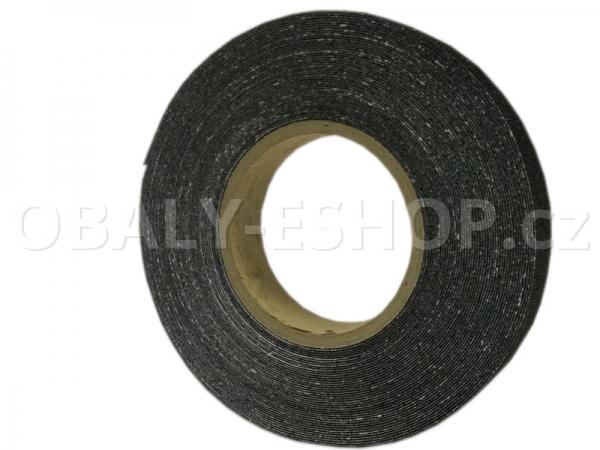 Protiskluzová samolepicí páska 25mmx18m Černá