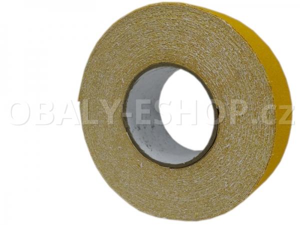 Protiskluzová samolepicí páska 50mmx18m Žlutá