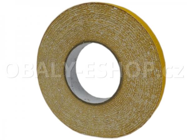 Protiskluzová samolepicí páska 25mmx18m Žlutá