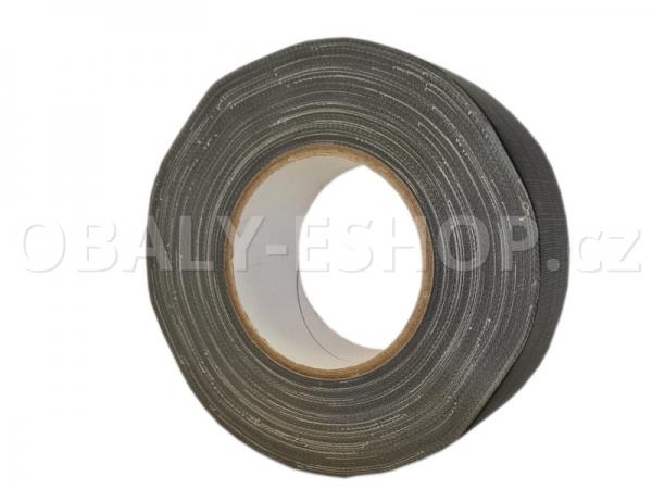 Textilní páska  ARGO 50mmx50m Gaffer Tape Černá matná