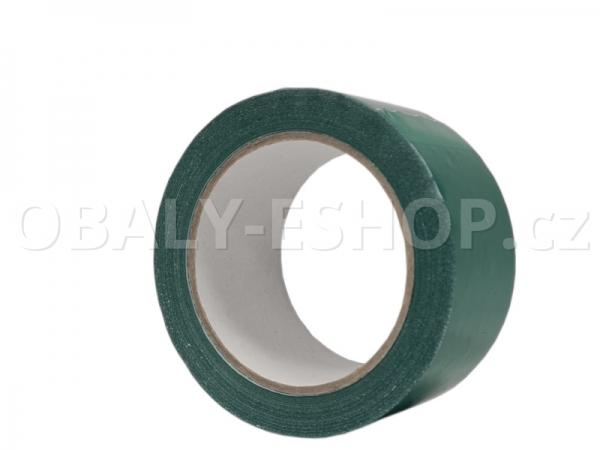 Výstražná lepicí páska PVC 50mmx66m 35µm Zelená