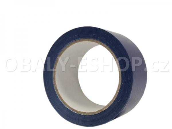 Výstražná lepicí páska PVC 50mmx66m 35µm Modrá
