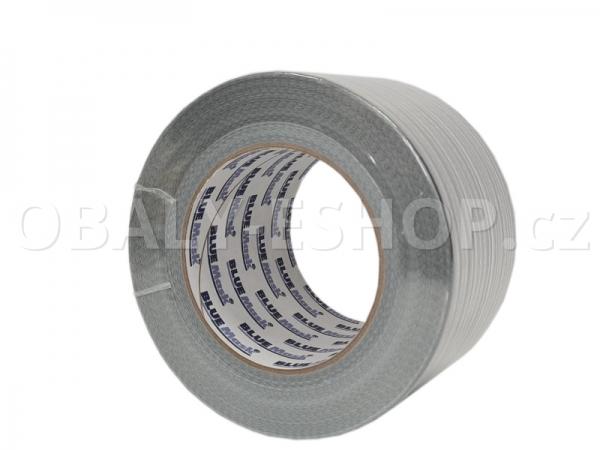 Textilní páska  ARGO 75mmx50m Stříbrná