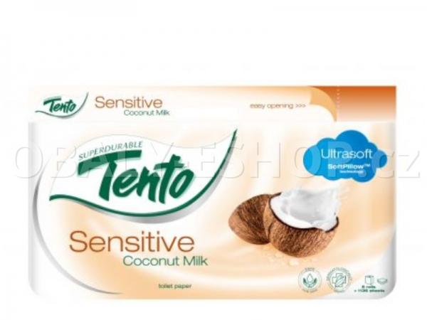 Toaletní papír Tento Coconut milk  3vrstvý 142 útržků