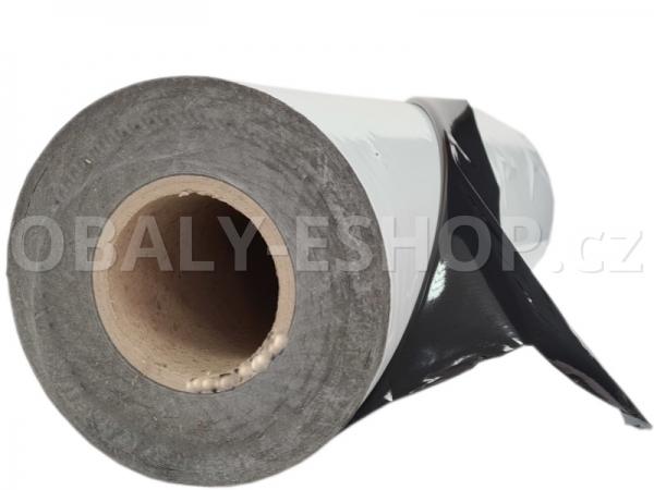 Ochranná fólie PE183 UV  500mmx200m Bílo-černá 75µm