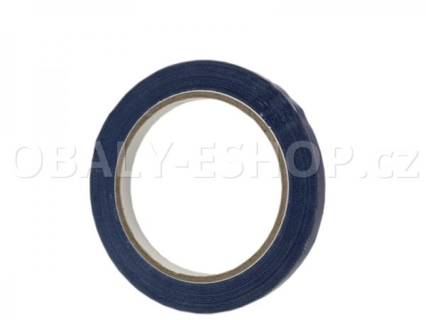 Lepicí páska PVC 9mmx66m Modrá Solvent 59µm