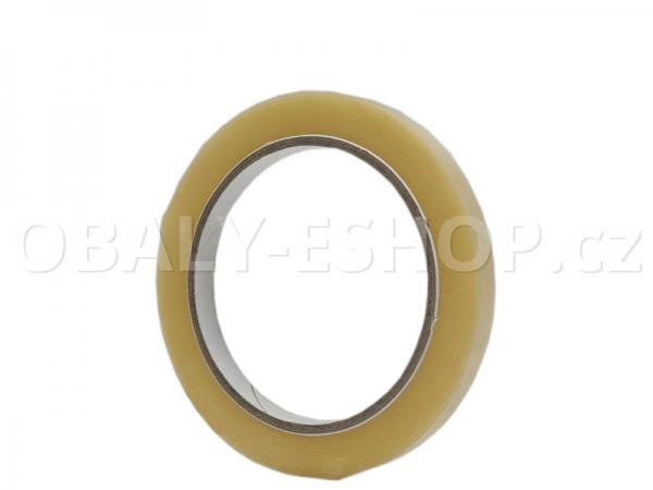 Lepicí páska PVC 9mmx66m Transp. Solvent 52µm