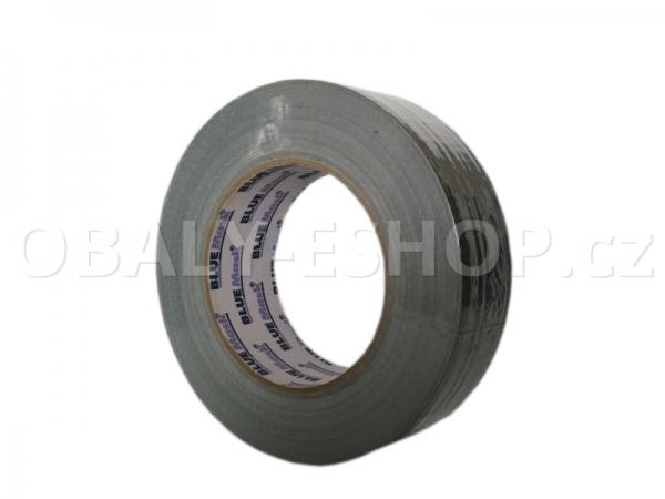 Textilní páska  ARGO 38mmx50m Stříbrná