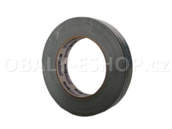 Textilní páska  ARGO 25mmx50m Stříbrná