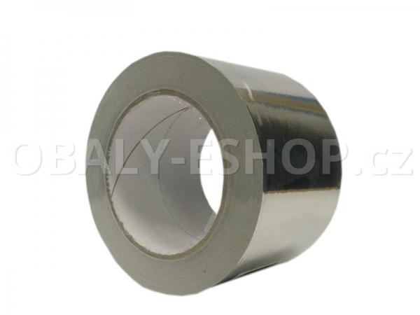Hliníková lepicí páska  75mmx50m ALU 901