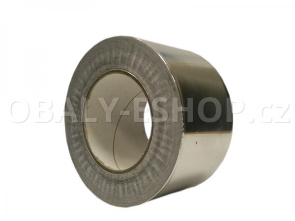 Hliníková lepicí páska 75mmx50m ALU 050 BlueMask