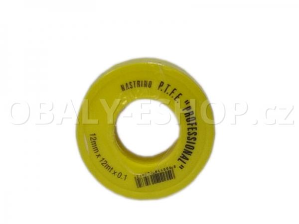 Teflonová páska  PTFE 12x0,10mmx12m Voda