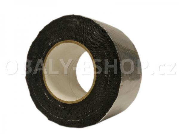 Butyl ALU lepicí páska  75mmx1mmx10m