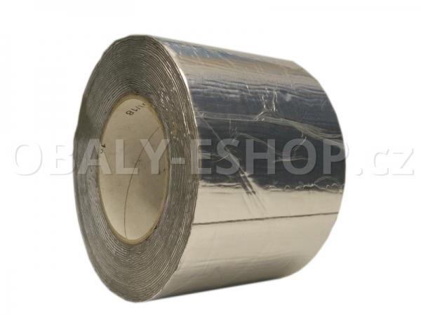 Butyl ALU lepicí páska 100mmx1mmx10m