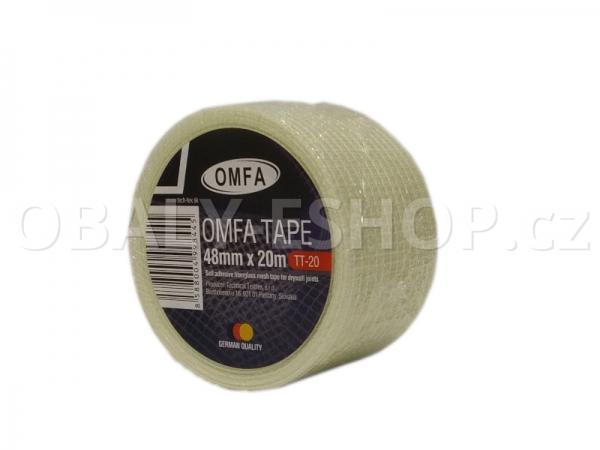 Samolepicí mřížka na sádrokarton 48mmx20m OMFA Tape