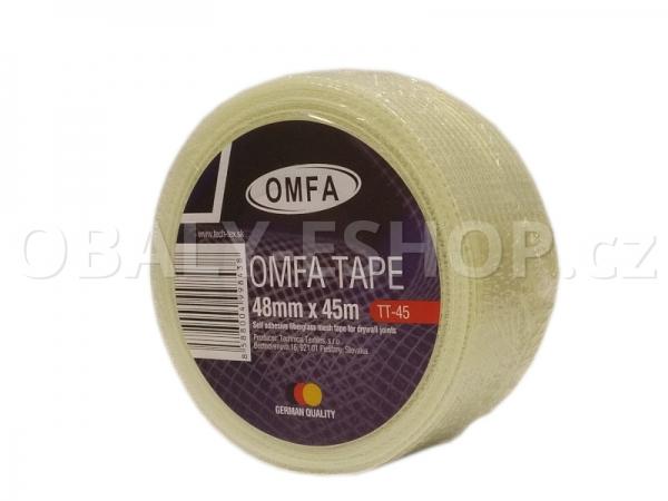 Samolepicí mřížka na sádrokarton 48mmx45m OMFA Tape