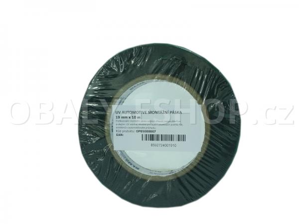 Oboustranná lepicí páska pěnová FA533 19x0,8mmx10m Černá
