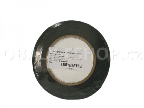 Oboustranná lepicí páska pěnová FA533  9x0,8mmx10m Černá