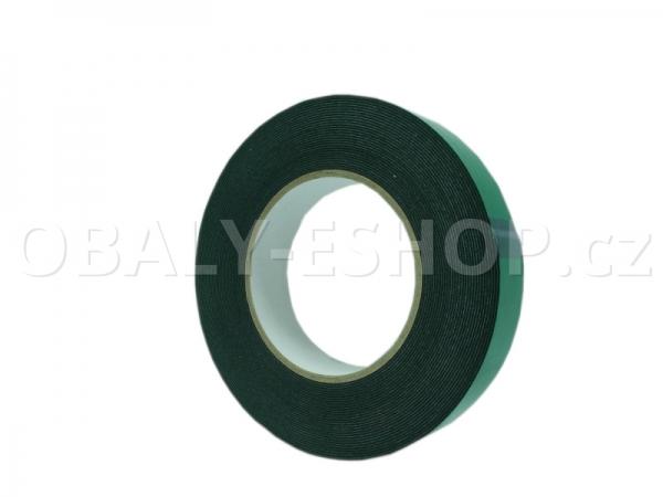 Oboustranná lepicí páska pěnová FA533 25x0,8mmx10m Černá