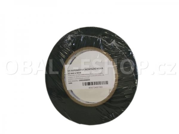 Oboustranná lepicí páska pěnová FA533 12x0,8mmx10m Černá