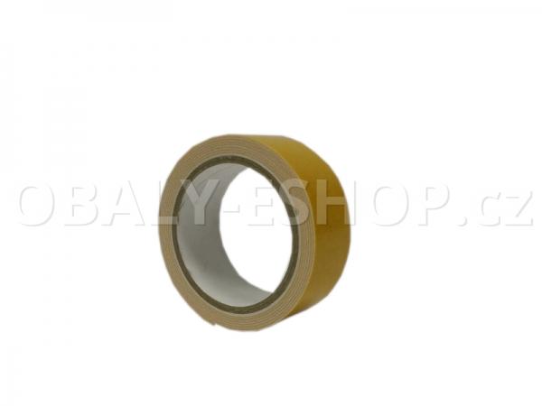 Oboustranná lepicí páska pěnová PA431 25x0,8mmx1,5m Bílá