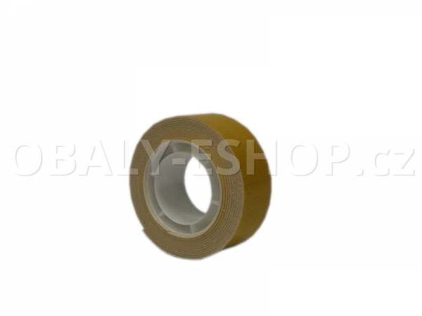 Oboustranná lepicí páska pěnová PA431 19x0,8mmx1,5m Bílá