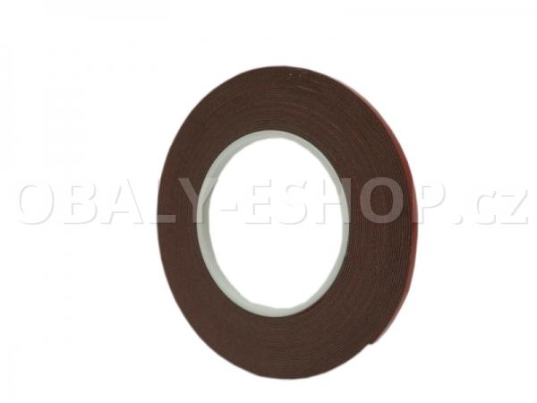 Oboustranná lepicí akrylová páska A143  6mmx10m Šedá