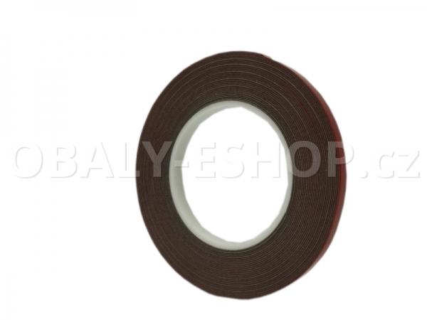 Oboustranná lepicí akrylová páska A143  9mmx10m Šedá