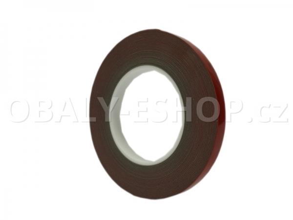 Oboustranná lepicí akrylová páska A143 12mmx10m Šedá