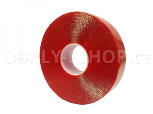Oboustranná lepicí akrylová páska A100  50mmx33m Transp.
